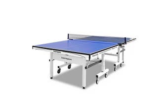 Double Happiness Indoor 25MM Table Tennis Ping Pong Table w/ Accessory Package