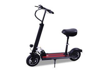 AKEZ 500W Electric Scooter w/Seat Motorised Adult Kids Boys Riding Foldable