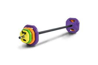 140cm Barbell Bar Weights Set 40kg Weight Plates Home Gym Fitness Training