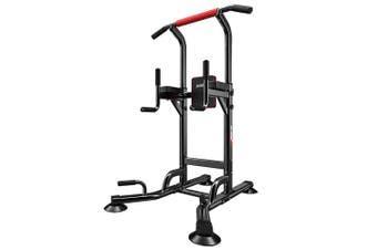 JMQ Fitness 6206A Pull Up Chin Up Knee Raise Heavy Duty Workout Station Home Gym Exercise