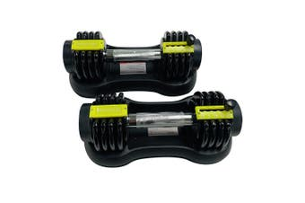 YT03 10KG Adjustable Dumbbells Set Exercise Equipment  Weight Fitness Woman Man