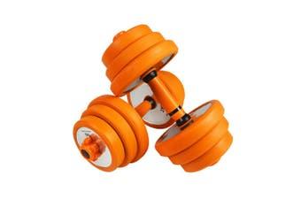 40KG Adjustable Dumbbells Set  Weight Lifting Fitness Sports Training Dumbbells