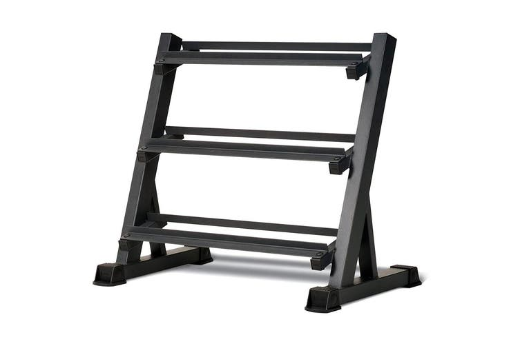 JMQ Fitness RBT101 Three Layers Dumbbell Rack Holder Stand
