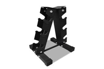 JMQ Fitness RBT102 Three Pairs Dumbbell Rack Holder Stand