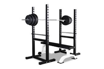 JMQ Fitness RBT303 Squat Rack Bench Press Weight Adjustable Lifting Home Gym