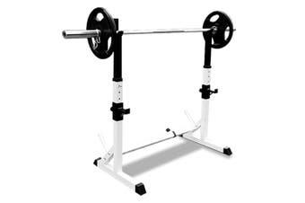 JMQ Fitness RBT308 Squat Rack Sturdy Pair Standard Weight Fitness Lifting Stand
