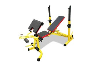 JMQ RBT308 Multi-Station Weight Bench Press Fitness Incline Gym Equipment