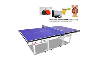 PRIMO 19mm Table Tennis Table Ping Pong Table w/ Upgraded Accessories Package