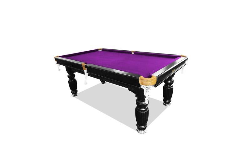 8ft Luxury Slate Pool Table Solid