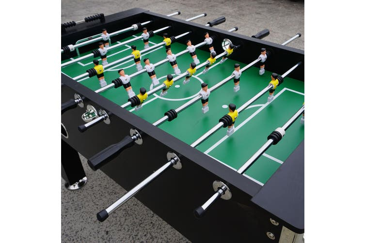 5FT Soccer Foosball Table Heavy Duty for Pub Game Room with Drink Holders,Black