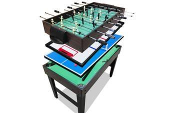 4-In-1 Soccer / Pool / Air Hockey / Table Tennis Tables Football Kids 4FT AU
