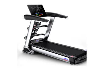JMQ A8 Electric Treadmill Pulse Sensor Foldable Bluetooth Gym Exercise Machine