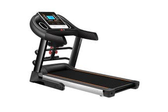 JMQ Fitness T600 2.0HP Foldable Electric Treadmill w/ Multifunctional Accessories Home Bluetooth