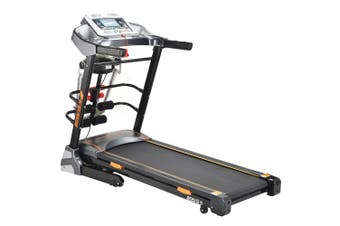 JMQ Fitness SP6606 Folding Incline Treadmill w/ Multi-functional Accessories