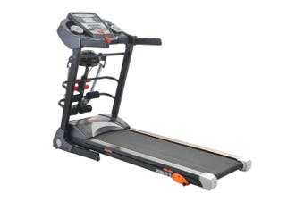 JMQ Fitness SP6612 Folding Incline Treadmill w/ Multi-functional Accessories