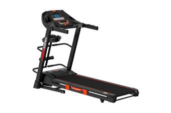 Jogway T15CLM 3.0HP Foldable Electric Treadmill w/ Multi-functional Accessories