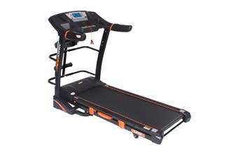 Jogway T25CM 3.0HP Foldable Electric Treadmill w/ Multi-functional Accessories
