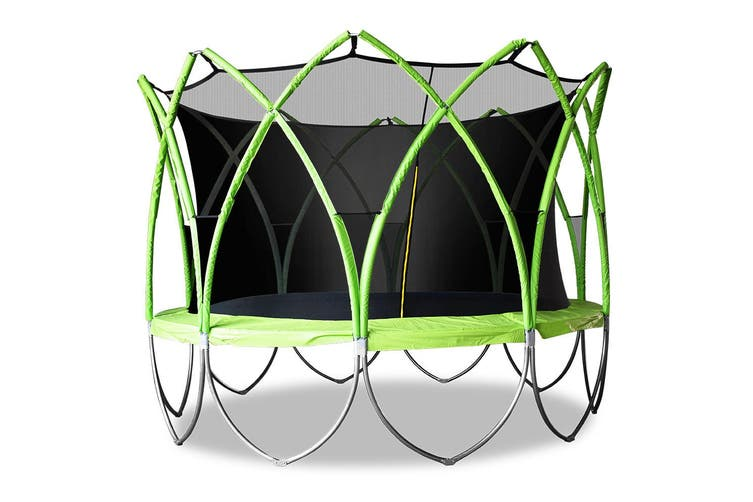 12FT Trampoline Enclosure Safety Net Jumping Kids Gift Indoor Outdoor