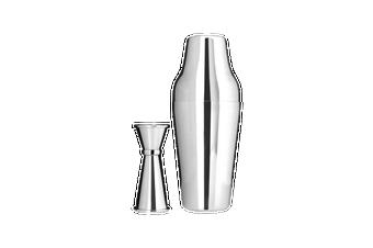 Bar Pro Cocktail Kit Chrome