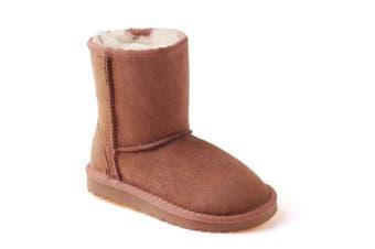 Kids Short Ugg Boots Chestnut / AU Kids 11/12