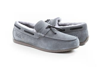 Ugg Pery Mens Moccasin Grey