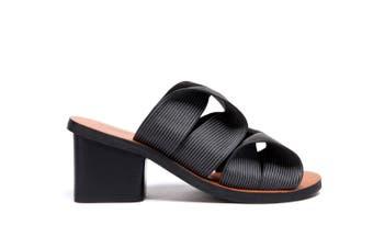 Ever UGG Iris/ Bowie Heeled Sandals Pumps #11670 Black