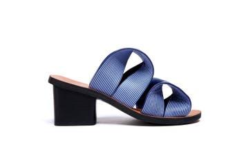 Ever UGG Iris/ Bowie Heeled Sandals Pumps #11670 Blue