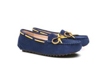 Ever UGG Sky Moccasin #11644WR Navy Blue