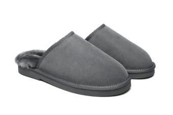 EVER UGG Mens Scuffs #21603 Grey / AU Ladies 9 / AU Men 7 / EU 40
