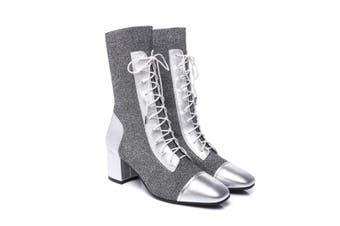 Ever UGG Heel boots Tayki #21552 Silver / AU Ladies 8 / AU Men 6 / EU 39