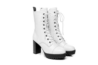 EVER UGG Fashion Boots Miss UP #21557 White