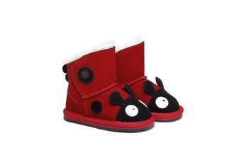 Ever UGG Ladybug Toddler #21432 Red