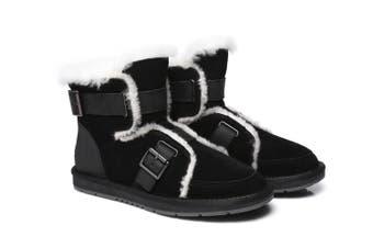 AS UGG Buckle Boots Helmi Black
