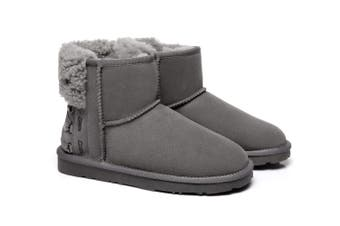 Ever UGG Ladies Mini Boots Darla #321018 Grey