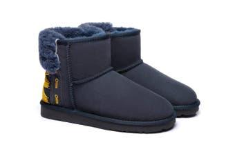 Ever UGG Ladies Mini Boots Darla #321018 Navy Blue