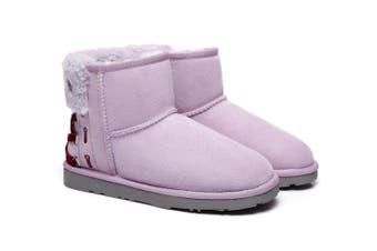 Ever UGG Ladies Mini Boots Darla #321018 Lavender