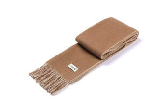Ever UGG Twin Wool Scarf Brown / White / One Size