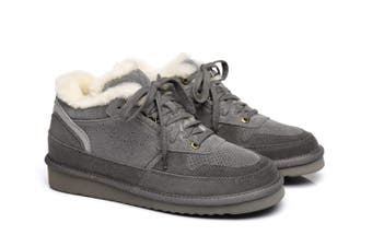 Ever UGG Mens Fashion Casual Boots Dave Grey