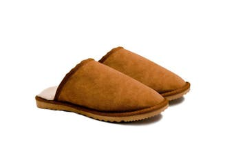 Australian Made Men's classic Scuff #113014 Chestnut
