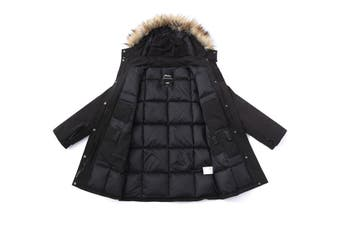 TA Men All In One Functional Down Jacket Black