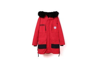 TA Rambler Parker Jacket with light Down Jacket Red