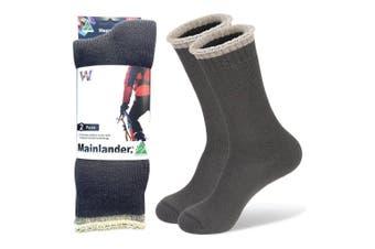 Wearproof Mainlander Original 2 Pair Pack Socks Grey