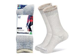 Wearproof Mainlander Original 2 Pair Pack Socks Snow