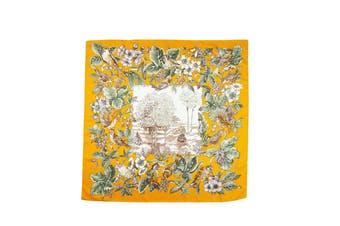 Square Silk Scarf Pattern 4