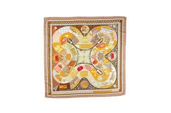 Square Silk Scarf Pattern 10