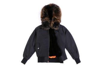 Ever UGG MA 1 Flight Jacket #25001 Black/black