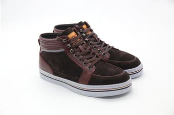 UGG Mens Casual Jordan Boots Wrapping Brown