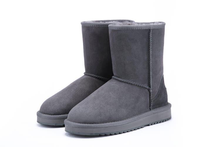 UGG Express Selected Unisex 3/4 Classic UGG Boots Grey / AU Ladies 9 / AU Men 7 / EU 40