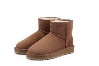 UGG Express Selected Unisex Mini Classic UGG Boots Chestnut
