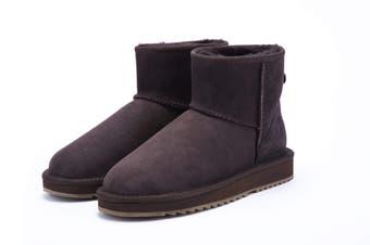 UGG Express Selected Unisex Mini Classic UGG Boots Chocolate / AU Ladies 9 / AU Men 7 / EU 40